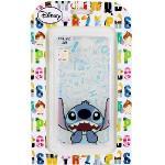 【Disney】HTC One A9 摀嘴系列 彩繪透明保護軟套(史迪奇)