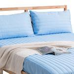 J-bedtime《無印藍》100% 防水枕頭專用保潔枕墊2入