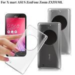 X_mart ASUS ZenFone Zoom 薄型清柔隱形保護手機殼(隱形透明)