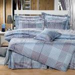 Novaya《莫菲斯科》絲光棉特大雙人四件式兩用被床包組
