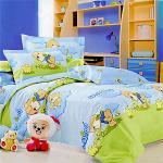 原售1680元↘【塔妮雅】無憂小熊。加大純棉四件式被套床包組