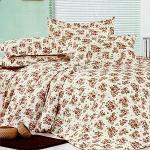 蒂凡芮【漫舞花海】單人全舖棉三件式二用被床包組
