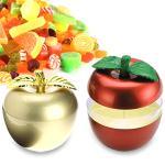 新年開運蘋果造型糖果零嘴收納盒加贈年節掛勾一個(紅色)