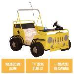 Kids castle兒童城堡 悍馬吉普車兒童造型單人床架(含床墊)