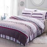 RODERLY 貝薇雅 柔絲絨 六件式鋪棉兩用被床罩組-加大