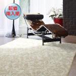 【范登伯格】 超值兩入組現代地毯-大款米色150x200cm
