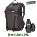 【MindShift Gear曼德士】MS360逆光系列戶外攝影背包(炭灰色)