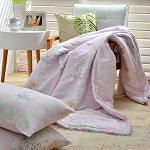 Royal Literie 【思戀】100%純天絲涼被枕套三件組