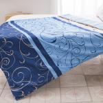 J-bedtime《藍調》3M吸濕排汗X防蹣抗菌舖棉四季涼被/空調被150x175cm