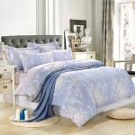 Royal Literie《清幽花夢》100%天絲 特大四件式兩用被套床包組