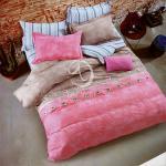 原售1280元↘【塔妮雅】寧靜。雙人純棉四件式涼被床包組
