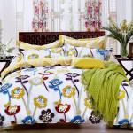 原售1380元↘【塔妮雅】曇花一現。雙人純棉四件式被套床包組