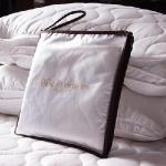 BBL 枕頭100%棉.平面式保潔墊