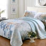 BELLE VIE 逆流的時光 冰涼天絲雙人床包兩用被四件組