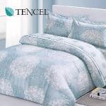 【Alleena】《斯班尼克》天絲加大雙人床包涼被四件組