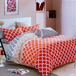 塔妮雅【快樂空間】加大全舖棉四件式二用被床包組