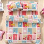BELLE VIE 歡樂派對 台灣製 精梳棉雙人床包枕套三件組