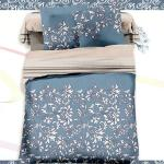 【羽織美】古典花卉 舒柔棉加大四件式被套床包組