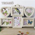 TROMSO-典雅巴黎木紋風6入相框