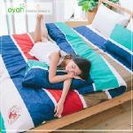 【eyah】頂級極細柔絲綿雙人加大床包涼被4件組-哥白尼