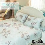 Daffodils《卡布奇諾》100%天絲雙人四件式涼被床包組