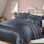 RODERLY - 藍調爵士-絲緞 雙人四件式被套床包組