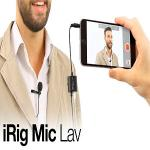 IK Multimedia iRig Mic Lav�⧨���g�A���J��for iOS/ Android