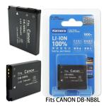 Kamera 通過BSMI認證 Canon NB-8L 高容量相機鋰電池