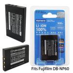 Kamera 通過BSMI認證 FUJIFILM NP-60 高容量相機鋰電池