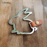 【Desk+1】鑰匙圈吊飾(大) - 好運(孕)兔