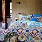原售1480元↘【塔妮雅】千百度。雙人純棉四件式二用被床包組