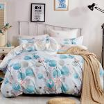 原售1480元↘【塔妮雅】月半開。雙人純棉四件式二用被床包組