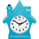 【LIBERTY】時尚粉彩房屋造型靜音鬧鐘(LB8802)