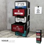 《MODERN》工業風鐵板畫五層櫃-DIY簡易組裝