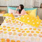 BELLE VIE Q版小雞(C版枕套) 台灣製 精梳棉單人三件式床包被套組