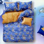 原售1380元↘【塔妮雅】隱約花開。雙人純棉四件式被套床包組