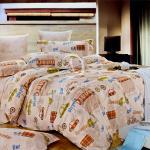 原售1380元↘【塔妮雅】酷車之家。雙人純棉四件式被套床包組
