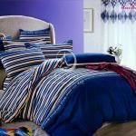 原售1780元↘【塔妮雅】運動風潮。加大純棉四件式二用被床包組(藍)
