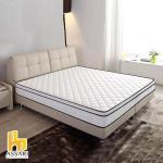 ASSARI-3M防潑水布三線蜂巢獨立筒床墊(雙大6尺)