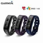 GARMIN vivosmart HR iPass 一卡通腕式心率智慧手環-黑色