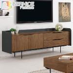 Bernice-羅納德6尺雙色長櫃/電視櫃