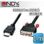 LINDY �L�� HDMI A�� to DVI-D �� ��V��u 1m (41101)