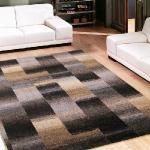 【范登伯格】漸層渲染極簡抽象氛圍進口地毯-深棕160x240cm