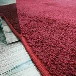 【范登伯格】 威爾單色銀蔥現代地毯-紅160x240cm