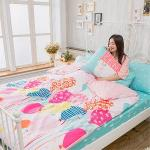BELLE VIE 童夢園 台灣製 精梳棉單人三件式床包被套組
