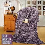 【Valentino 范倫鐵諾】雲貂絨極度保暖毯 (152x178cm)(42001-1)