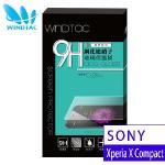 【WINDTAC】SONY Xperia X Compact 9H硬度、防刮傷、防指紋 玻璃保護貼