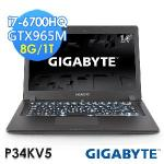 GIGABYTE技嘉 P34KV5 14吋 i7-6700HQ WIN10筆電