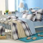 義大利La Belle《悠閒假日》單人三件式防蹣抗菌舖棉兩用被床包組