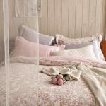 BBL芳果馨香100%純棉印花兩用被加大床組